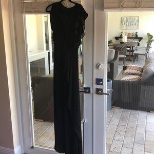 Black BCBG long dress